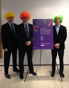 Dentons Global Chief Operating Officer Orest Szot, Dentons Canada CEO Chris Pinnington, and Dentons Toronto Managing Partner Mike Kaplan